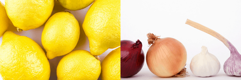 how to make onion hair oil using lemon and onion juice